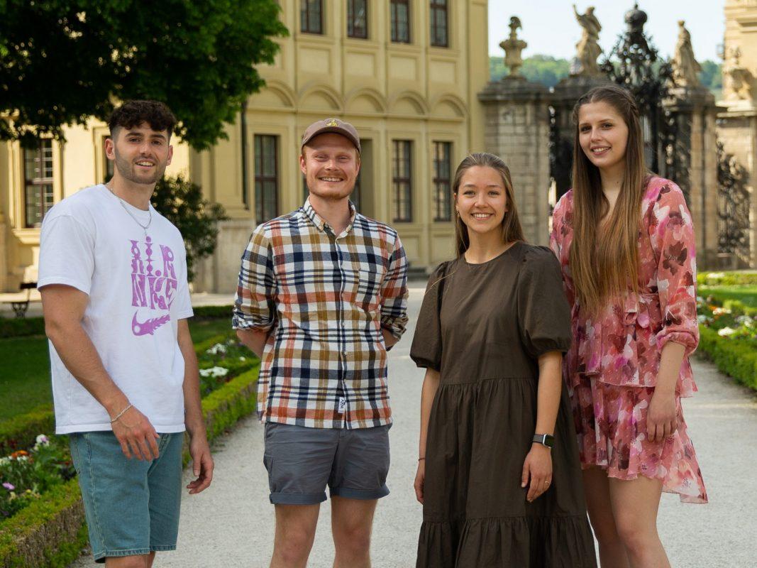 Hinter MainEnkel stecken die Studenten Alexander Hahn, Kevin Schwarz, Svea Füldner und Esther Heinz. Foto: MainEnkel