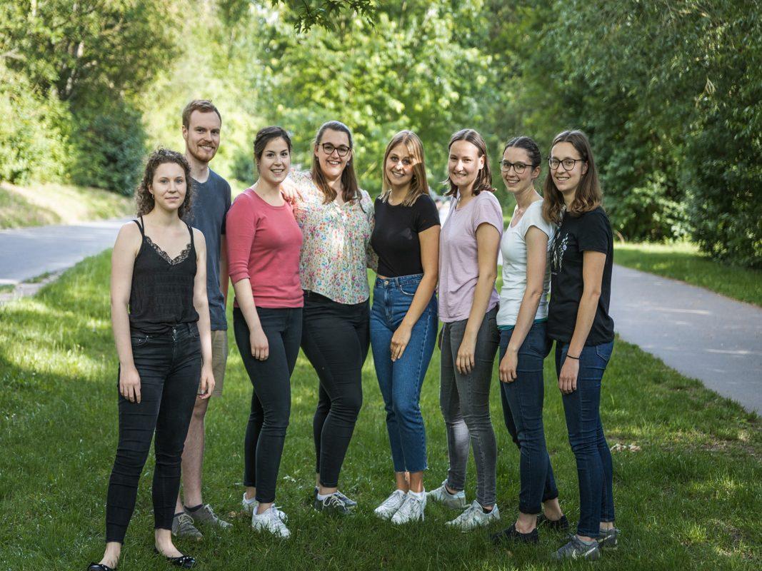 Das Team von Briefwechsel- Wue. Foto: Briefwechsel-Wue