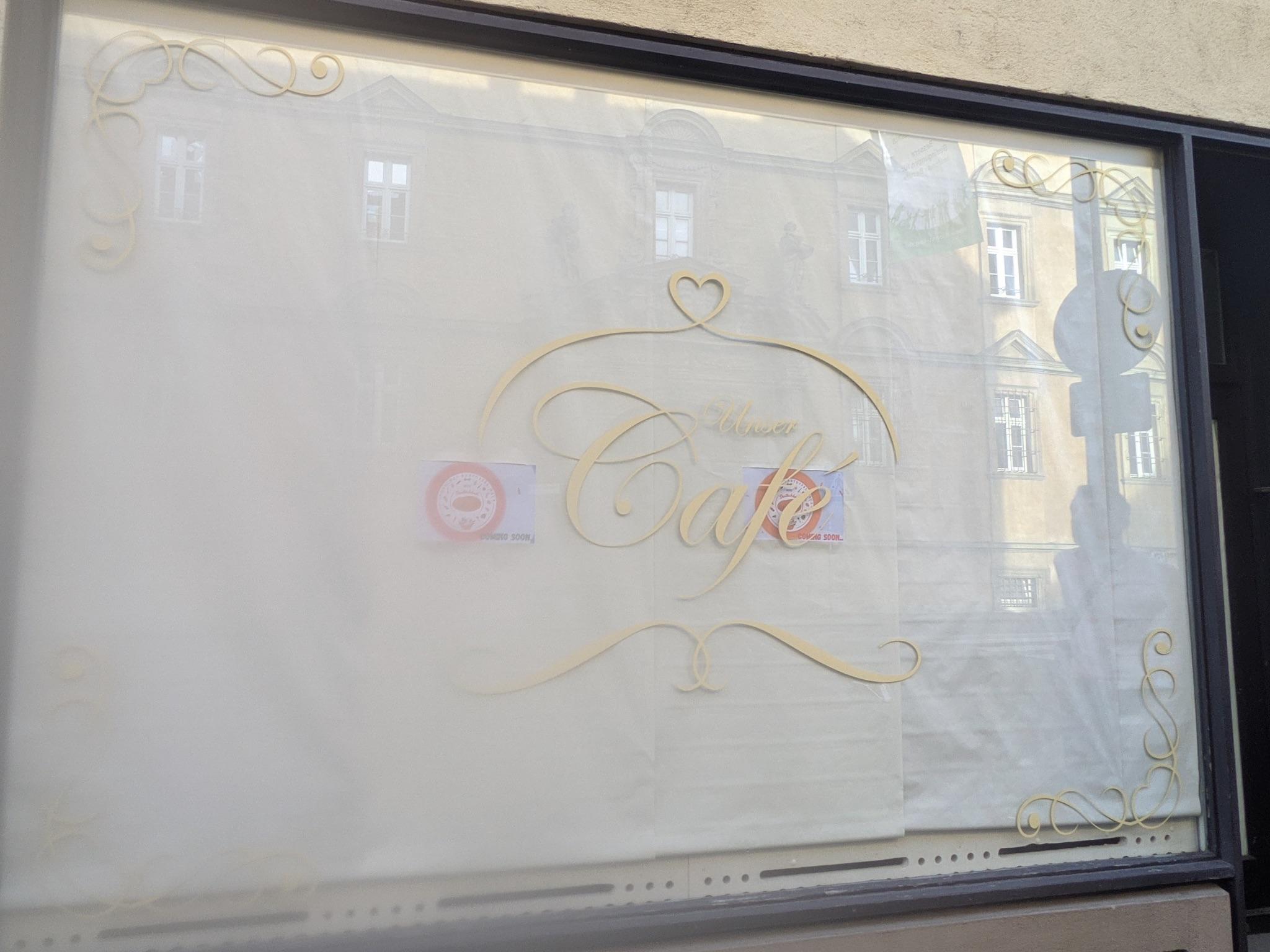 Unser Café in der Münzstraße hat Ende Juli geschlossen. Foto: Würzburg erleben