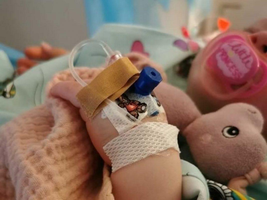 Die kleine Melia sucht dringend nach einem Spender! Foto: privat