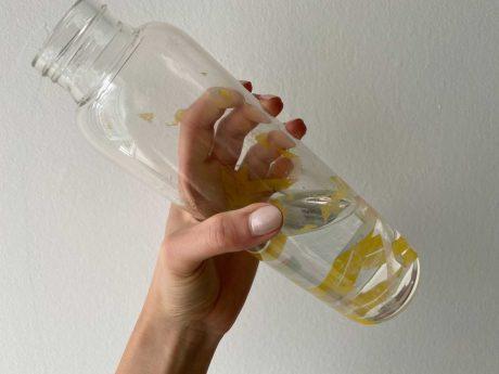 Wasserflasche. Symbolfoto: Katharina Kraus