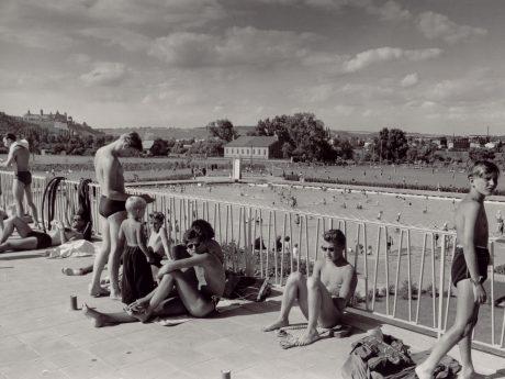 Das Dallenbergbad feiert seinen 65. Geburtstag. Foto: Historisches Archiv des WVV.