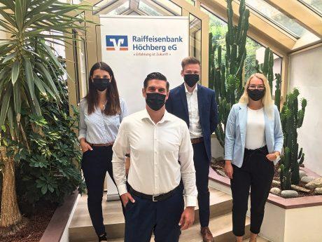 Gemeinschaft spielt bei der Raiffeisenbank in Höchberg eine große Rolle! Foto: Laura Göpfert