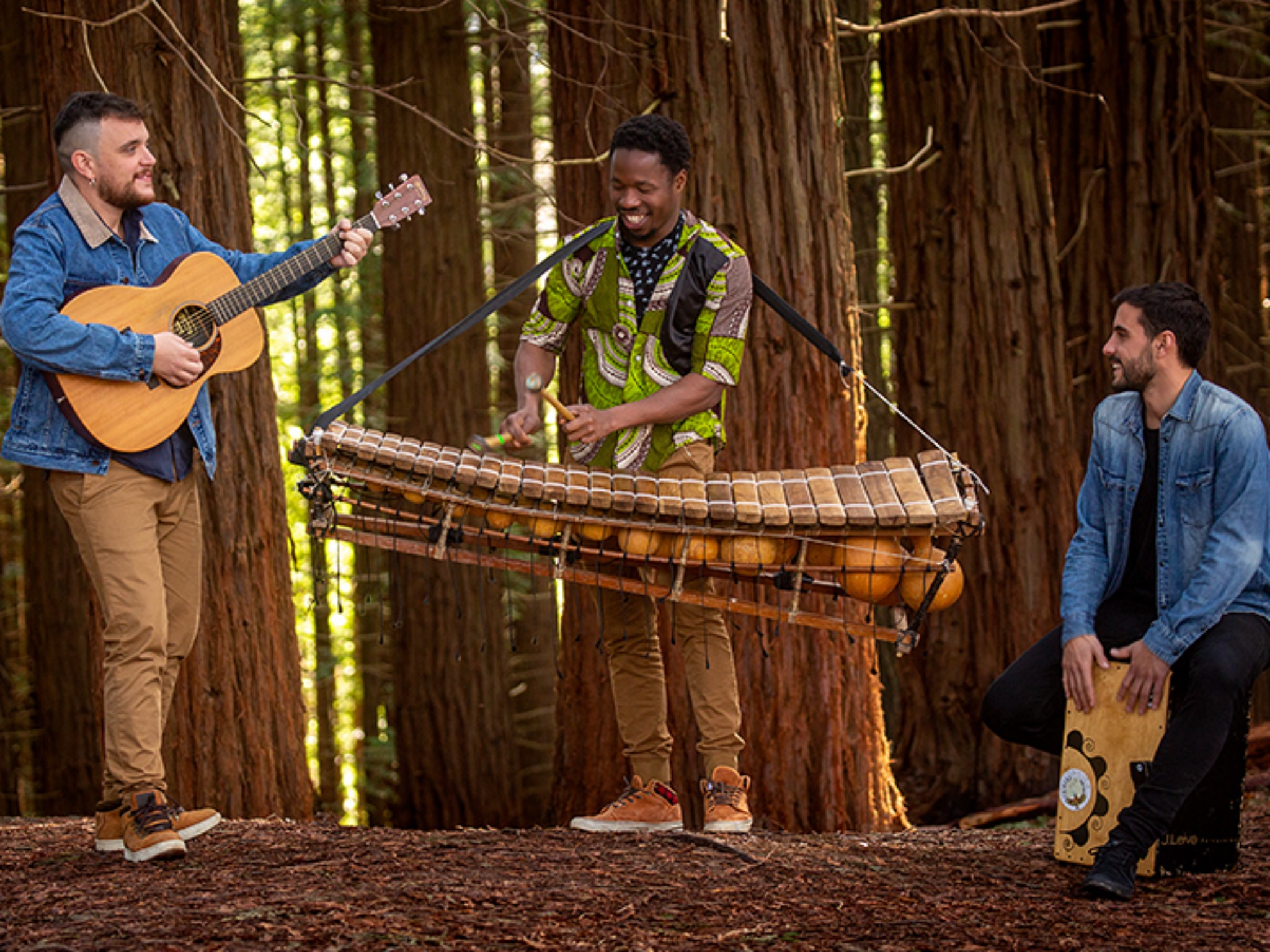 Das Trio Tribubu: Foto: Jose A. Gallego