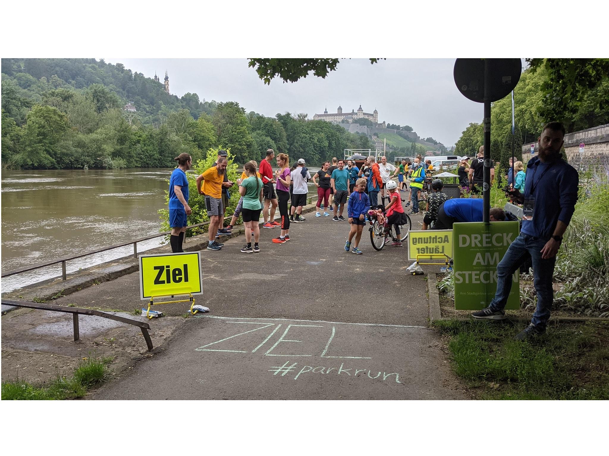 Nach 5 km ist das Ziel erreicht. Foto:
