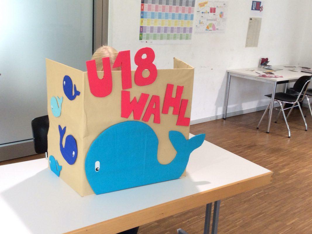 U18 Wahl in Würzburg im Jugendzentrum Zellerau. Bild: Stadtjugendring Würzburg